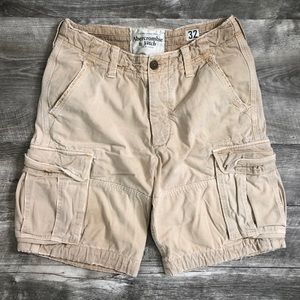 Abercrombie and Fitch Cargo Shorts